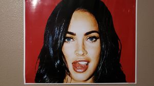 Megan fox poster semi gloss paper for Sale in Puyallup, WA