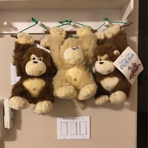 "BABY MONKEY 🐒 PLUSH TOY 13"" for Sale in Sloan, NV"