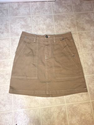 H&M Khaki Jean Skirt for Sale in Brentwood, NC