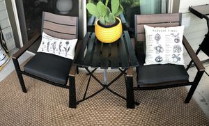 Like new 3-piece outdoor table and chairs! for Sale in Seattle, WA