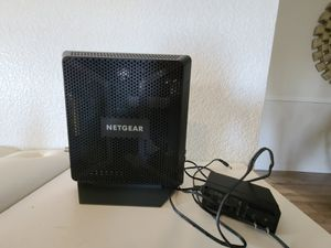 Netgear WiFi cable modem docsis 3.0 for Sale in Frisco, TX