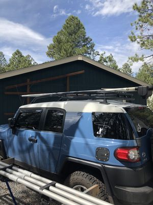 Fly rod roof rack for Sale in Lakeside, AZ
