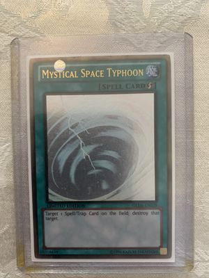 Mystical Space Typhoon Gold Ghost Rare Limited Edition for Sale in Miami, FL