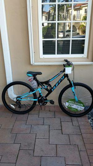 "NEW 26"" Womens Mountain Bike Dual Suspension for Sale in Aventura, FL"