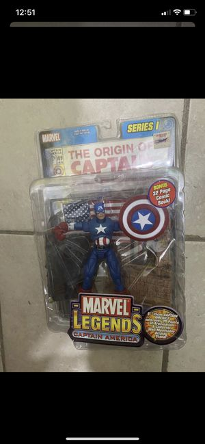 Captain America Marvel Legends Action Figure for Sale in Glendale, CA