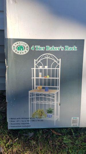 4 Tier Baker Rack for Sale in Springfield, VA