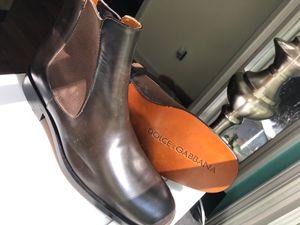 Dolce&Gabbana size 10 ankle boots for men for Sale in Atlanta, GA