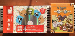 URGENT MOVING SALE: FRENCH speaking or learning kids: 2 games for Sale in New York, NY