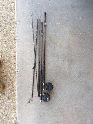Fishing poles with fly reels for Sale in Phoenix, AZ