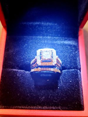 BN PRINCESS CUT BRIDAL RING SET for Sale in Edgewater, CO