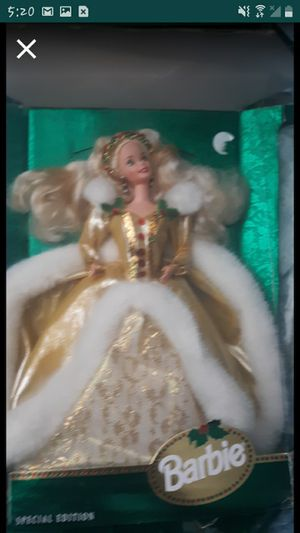 A Mattel 1994 Limited Edition holiday Barbie for Sale in Frostproof, FL