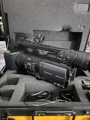 Amazing Panasonic video progressional video camera for Sale in Stockton, CA