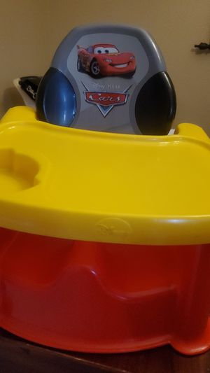 Cars disney high chair seat for Sale in Midland, TX
