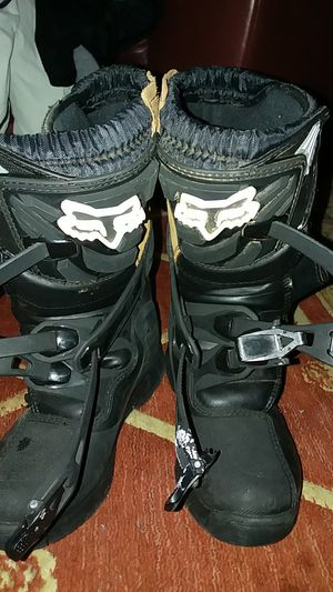 29fb36309662 Fox Racing boots size 8.5 50  for Sale in New Britain