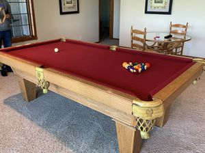 Rassom pool table for Sale in Beulah, MI