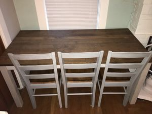 Dinner/dining table and chairs for Sale in San Leandro, CA