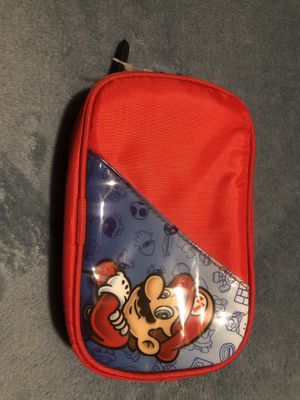 Super Mario Nintendo DS 3DS Carrying Case for Sale in San Bernardino, CA