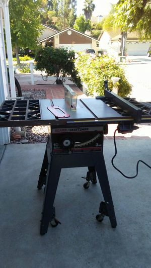 Craftsman Table Saw for Sale in Oceanside, CA