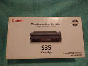 Canon S35 printer cartridge for Sale in Toms River, NJ