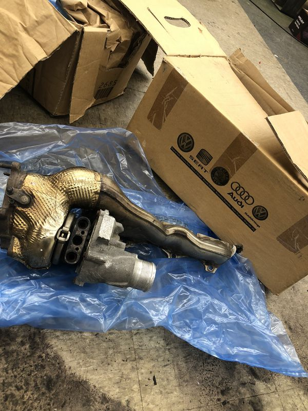 K04 Turbos and manifolds off AUDI S8,RS7
