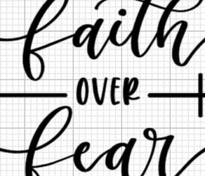 Faith Over Fear Decal for Sale in Glen Carbon,  IL