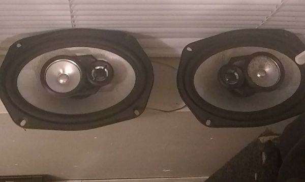 Mtx 6x9 and a pioneer 6x8 good quality