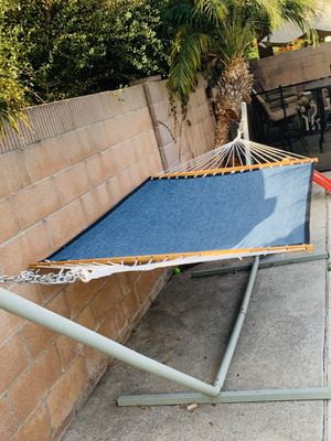 Hammock and stand for Sale in Costa Mesa, CA