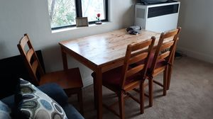 Table & 4 chairs for Sale in Richmond, CA