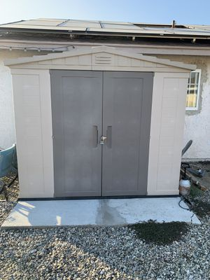 8x6 plastic storage shed for Sale in Ontario, CA