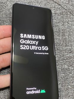 Selling Samsung S20 Ultra 5G 128GB Perfect Condition Unlocked Any Carrier for Sale in Chicago,  IL