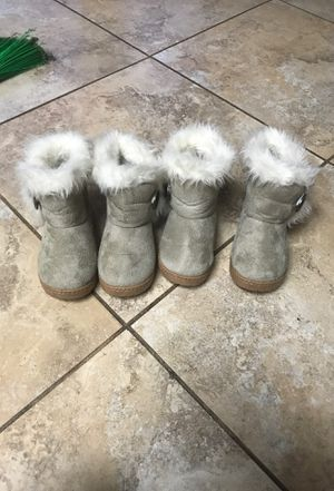 Toddler girl boots for Sale in Mount Vernon, WA