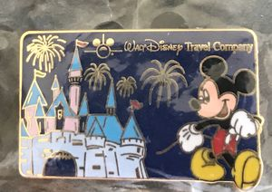 Limited Edition Walt Disney Travel Company Pin Mickey Mouse Magic Kingdom for Sale in Whittier, CA