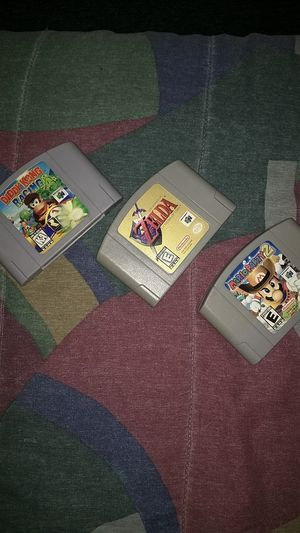 Awesome Nintendo 64 Games! for Sale in Edmonds, WA