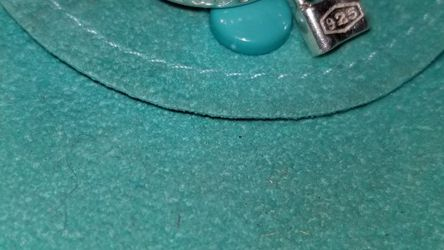 Tiffany And Co 925 Silver Ring 1837 And Padlock Size 6 for Sale in Ravensdale,  WA