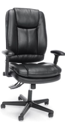 New!! Leather Executive chair, black for Sale in Tempe, AZ