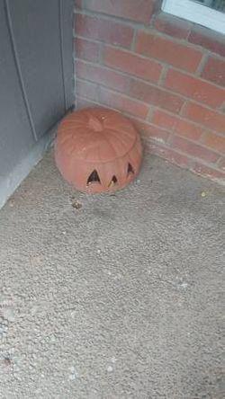 Terracotta pumpkin for Sale in Gresham,  OR