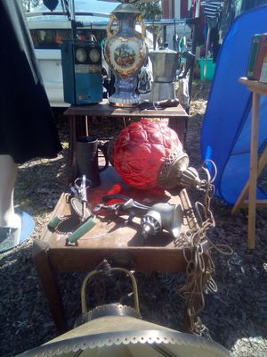 A lot of antiques table included for Sale in Spartanburg, SC