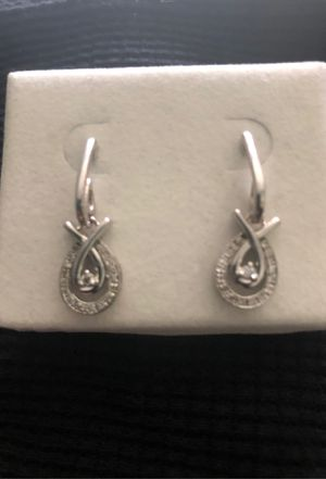 Diamond earrings for Sale in Silver Spring, MD