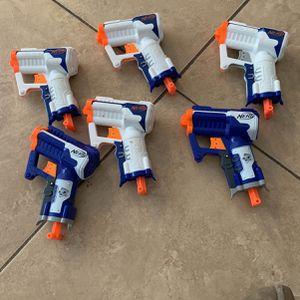Mini nerf gun $3 per gun for Sale in Corona, CA