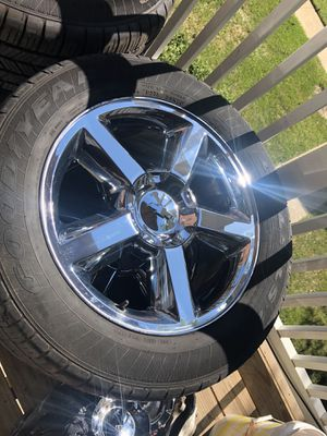 """New Tahoe rims 20""""s crome for Sale in College Park, MD"""