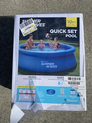"""NEW Summer Wave 10' x 30"""" for Sale in Milpitas, CA"""