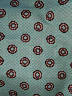 Captain America fabric for Sale in Dixon, MO