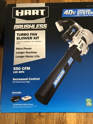 Hart turbo fan leaf blower brand new still in box for Sale in Horseheads, NY