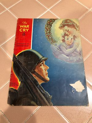 The war cry 1943 Salvation Army magazine for Sale in La Habra, CA