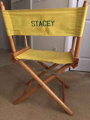 Child's Director Chair - Foldable for Sale in Alexandria, VA