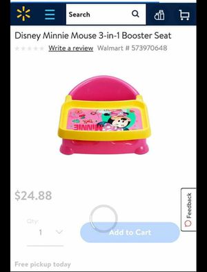 Booster seat 3 in 1 for Sale in Wichita, KS