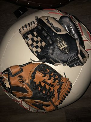 Kids baseball gloves for Sale in West Palm Beach, FL