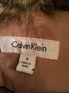 Small Calvin Klein trench coat for Sale in Erie, PA