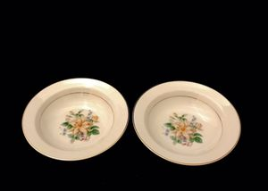 Very Rare Vintage Noritake Goldenrose set of 2 Berry/Sauce Bowls for Sale in Ransom Canyon, TX