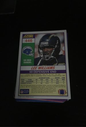 Pack of about 52 random football cards for Sale in Ellenwood, GA